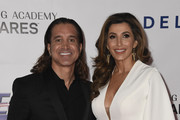 Scott Stapp and Jaclyn Stapp attend MusiCares Person of the Year honoring Dolly Parton at Los Angeles Convention Center on February 8, 2019 in Los Angeles, California.