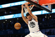 Stephen Curry #30 of the Golden State Warriors and Team Giannis dunks against Team LeBron in the fourth quarter during the NBA All-Star game as part of the 2019 NBA All-Star Weekend at Spectrum Center on February 17, 2019 in Charlotte, North Carolina. Team LeBron won 178-164. NOTE TO USER: User expressly acknowledges and agrees that, by downloading and/or using this photograph, user is consenting to the terms and conditions of the Getty Images License Agreement. .