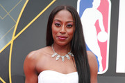 Chiney Ogwumike attends the 2019 NBA Awards at Barker Hangar on June 24, 2019 in Santa Monica, California.