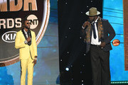 2 Chainz speaks onstage during the 2019 NBA Awards presented by Kia on TNT at Barker Hangar on June 24, 2019 in Santa Monica, California.
