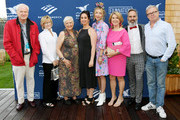 Chris Matthews, Jane Curtin, Anne Beatts, Sudi Green, Heidi Gardner, Katherine Matthews, Donick Cary and Eric Gilliland attend the Screenwriters Tribute at Sconset Casino during the 2019 Nantucket Film Festival - Day Four on June 22, 2019 in Nantucket, Massachusetts.