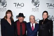 (L-R) Jane Rosenthal, Joe Pesci and Martin Scorsese and Emma Tillinger attend the 2019 New York Film Critics Circle Awards at TAO Downtown on January 07, 2020 in New York City.