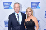 Ted Kennedy, Jr. and Cheryl Hines attend the 2019 Robert F. Kennedy Human Rights Ripple Of Hope Awards on December 12, 2018 in New York City.