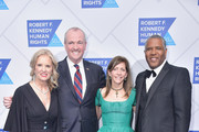 (L-R) Kerry Kennedy, Phil Murphy, Tammy Murphy, and Robert F. Smith attend the 2019 Robert F. Kennedy Human Rights Ripple Of Hope Awards on December 12, 2018 in New York City.