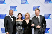 (L-R) Robert F. Smith, Hilaria Baldwin, Kerry Kennedy, and Alec Baldwin attend the 2019 Robert F. Kennedy Human Rights Ripple Of Hope Awards on December 12, 2018 in New York City.