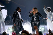 Wale (L) and Kelly Price perform during the 2019 Soul Train Awards at the Orleans Arena on November 17, 2019 in Las Vegas, Nevada.