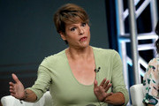 Alexandra Billings of 'Transparent' speaks onstage during the Amazon Prime Video segment of the Summer 2019 Television Critics Association Press Tour at The Beverly Hilton Hotel on on July 27, 2019 in Beverly Hills, California.
