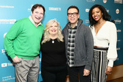 """Richard Kind, Paula Pell, Fred Armisen, and Renee Elise Goldsberry attend the """"Documentary Now!"""" Season 52 Preview during the 2019 Sundance Film Festival at Egyptian Theatre on January 27, 2019 in Park City, Utah."""