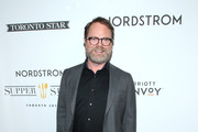 "Rainn Wilson attends the ""Blackbird"" premiere party at Nordstrom Supper Suite during the 2019 Toronto International Film Festival at MARBL Restaurant on September 06, 2019 in Toronto, Canada."