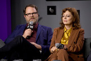 "(L-R) Rainn Wilson and Susan Sarandon attend the ""Blackbird"" press conference during the 2019 Toronto International Film Festival at TIFF Bell Lightbox on September 06, 2019 in Toronto, Canada."