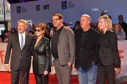 (L-R) Sam Neill, Susan Sarandon Rainn Wilson, Roger Michell and guest attend the 'Blackbird' premiere during the 2019 Toronto International Film Festival at Roy Thomson Hall on September 06, 2019 in Toronto, Canada.