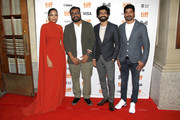 "(L-R) Sobhita Dhulipala, Anurag Kashyap, Roshan Mathew, and S. Vinod Kumar attend the ""The Elder One"" photo call during the 2019 Toronto International Film Festival at Winter Garden Theatre on September 11, 2019 in Toronto, Canada."