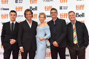 """Finn Wittrock, Rupert Goold, Renee Zellweger, David Livingstone and guest attend the """"Judy"""" premiere during the 2019 Toronto International Film Festival at Princess of Wales Theatre on September 10, 2019 in Toronto, Canada."""