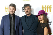 (L-R) Carthew Neal, Chelsea Winstanley and Taika Waititi attend the 2019 Toronto International Film Festival TIFF Tribute Gala at The Fairmont Royal York Hotel on September 09, 2019 in Toronto, Canada.