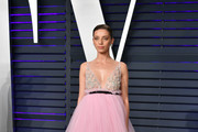 Angela Sarafyan attends the 2019 Vanity Fair Oscar Party hosted by Radhika Jones at Wallis Annenberg Center for the Performing Arts on February 24, 2019 in Beverly Hills, California.