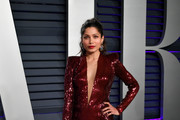 Freida Pinto attends the 2019 Vanity Fair Oscar Party hosted by Radhika Jones at Wallis Annenberg Center for the Performing Arts on February 24, 2019 in Beverly Hills, California.