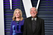 (L-R) Jane Slagsvol and Jimmy Buffett attend the 2019 Vanity Fair Oscar Party hosted by Radhika Jones at Wallis Annenberg Center for the Performing Arts on February 24, 2019 in Beverly Hills, California.