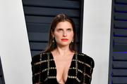 Lake Bell attends the 2019 Vanity Fair Oscar Party hosted by Radhika Jones at Wallis Annenberg Center for the Performing Arts on February 24, 2019 in Beverly Hills, California.
