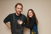 Dax Shepard and Lake Bell of ABC's 'Bless This Mess' pose for a portrait during the 2019 Winter TCA Getty Images Portrait Studio at The Langham Huntington, Pasadena on February 5, 2019 in Pasadena, California.