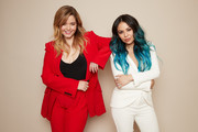 Sasha Pieterse and Janel Parrish of ABC's 'Pretty Little Liars: The Perfectionists' pose for a portrait during the 2019 Winter TCA Getty Images Portrait Studio at The Langham Huntington, Pasadena on February 5, 2019 in Pasadena, California.