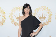 Catherine Bell attends Hallmark Channel And Hallmark Movies And Mysteries 2019 Winter TCA Tour at Tournament House on February 09, 2019 in Pasadena, California.