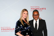Sarah Arison and Designer Naeem Khan attends the YoungArts New York Gala at the Metropolitan Museum on April 16, 2019 in New York City.