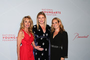 Sandra Tamer, Sarah Arison and  Gillian Hearst attend the YoungArts New York Gala at the Metropolitan Museum on April 16, 2019 in New York City.