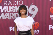 Kat Graham attends the 2019 iHeartRadio Music Awards which broadcasted live on FOX at Microsoft Theater on March 14, 2019 in Los Angeles, California.
