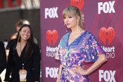 (EDITORIAL USE ONLY. NO COMMERCIAL USE) Taylor Swift attends the 2019 iHeartRadio Music Awards which broadcasted live on FOX at Microsoft Theater on March 14, 2019 in Los Angeles, California.