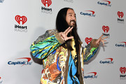 (EDITORIAL USE ONLY) Steve Aoki attends the 2019 iHeartRadio Music Festival at T-Mobile Arena on September 20, 2019 in Las Vegas, Nevada.