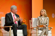 COO Bank of America Tom Montag and Tory Burch speak onstage during the 2020 Embrace Ambition Summit by the Tory Burch Foundation at Jazz at Lincoln Center on March 05, 2020 in New York City.