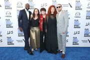 (L-R) Byron Bowers, Natasha Braier, Noah Jupe, Alma Har'el, and Shia LaBeouf attend the 2020 Film Independent Spirit Awards on February 08, 2020 in Santa Monica, California.