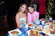 (L-R) Hunter King and Joey King attend the 2020 Film Independent Spirit Awards on February 08, 2020 in Santa Monica, California.