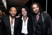 John Legend and Russell Brand Photos Photo