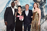 Omar Sy and Karen Gillan Photos Photo