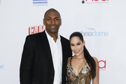 Metta World Peace and Guest attend the 2020 Hollywood Beauty Awards at The Taglyan Complex on February 06, 2020 in Los Angeles, California.