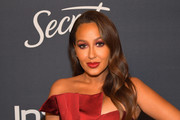 Adrienne Bailon attends The 2020 InStyle And Warner Bros. 77th Annual Golden Globe Awards Post-Party at The Beverly Hilton Hotel on January 05, 2020 in Beverly Hills, California.