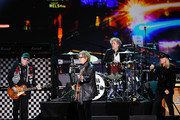 (L-R) Rick Nielsen, Tom Petersson, Daxx Nielsen, and Robin Zander of Cheap Trick perform onstage during MusiCares Person of the Year honoring Aerosmith at West Hall at Los Angeles Convention Center on January 24, 2020 in Los Angeles, California.