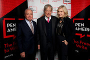 Lorne Michaels, Tom Stoppard, and Diane Sawyer attend the 2020 PEN America Literary Awards Ceremony at The Town Hall on March 02, 2020 in New York City.