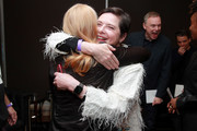 Patricia Clarkson and Isabella Rosellini attend the Awards Presenters Reception during the 2020 Sundance Film Festival at Basin Recreation Yoga Studio on February 01, 2020 in Park City, Utah.