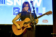Lisa Loeb performs onstage during 2020 Sundance Film Festival - BMI Snowball at The Shop on January 28, 2020 in Park City, Utah.