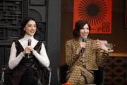2020 Sundance Film Festival -   Cinema Cafe With Carrie Brownstein And St. Vincent