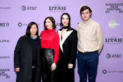 "Kim Yutani, Carrie Brownstein, Annie Clark and Bill Benz attend the 2020 Sundance Film Festival - ""The Nowhere Inn"" Premiere at Library Center Theater on January 25, 2020 in Park City, Utah."