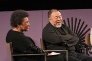 Carrie Mae Weems and Ai Weiwei speak at the 2020 Sundance Film Festival - Power Of Story: Just Art Panel at Egyptian Theatre on January 25, 2020 in Park City, Utah.