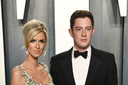 (L-R) Nicky Hilton Rothschild and James Rothschild attend the 2020 Vanity Fair Oscar Party hosted by Radhika Jones at Wallis Annenberg Center for the Performing Arts on February 09, 2020 in Beverly Hills, California.