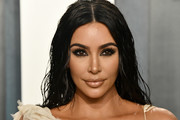Kim Kardashian attends the 2020 Vanity Fair Oscar Party hosted by Radhika Jones at Wallis Annenberg Center for the Performing Arts on February 09, 2020 in Beverly Hills, California.