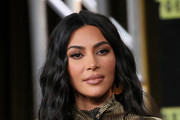 Kim Kardashian West of 'The Justice Project' speaks onstage during the 2020 Winter TCA Tour Day 12  at The Langham Huntington, Pasadena on January 18, 2020 in Pasadena, California.
