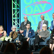 Norman Lear and Justina Machado Photos