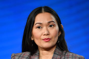 Hong Chau of Amazon Prime's 'Homecoming' speaks onstage during the 2020 Winter TCA Tour Day 8 at The Langham Huntington, Pasadena on January 14, 2020 in Pasadena, California.