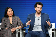 Hong Chau and Eli Horowitz of Amazon Prime's 'Homecoming' speaks onstage during the 2020 Winter TCA Tour Day 8 at The Langham Huntington, Pasadena on January 14, 2020 in Pasadena, California.